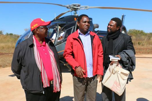GBM, HH and Dr Banda about to embark on a campaign trail in the Eastern Province