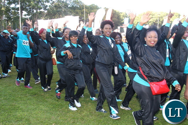 Bank FNB team with a contingent of almost 200 participants and it was voted the best dressed team.