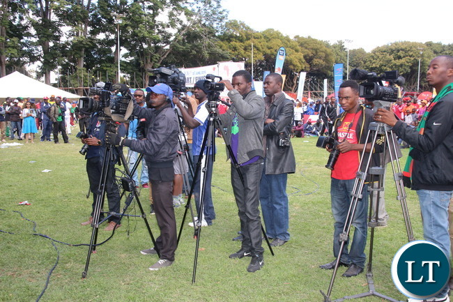 The media fraternity