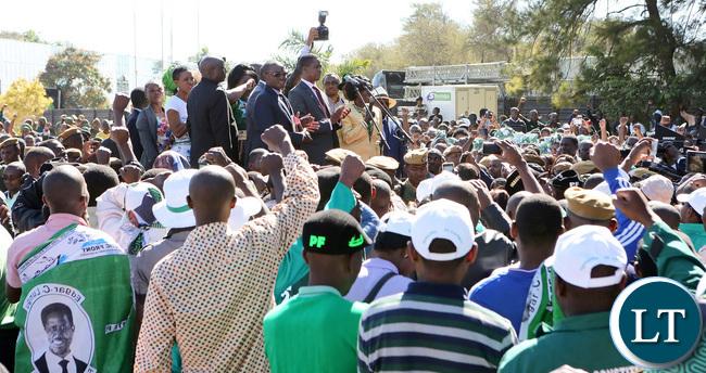 President Lungu Nominations
