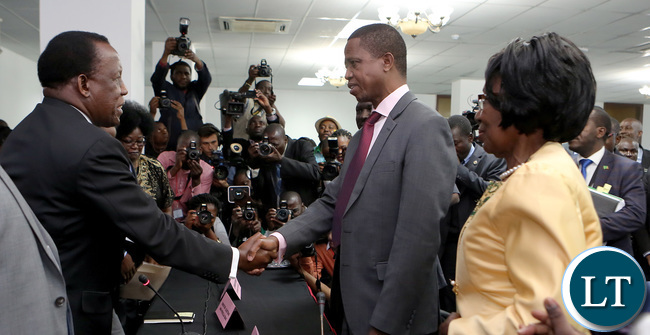 President Lungu files his nominations papers