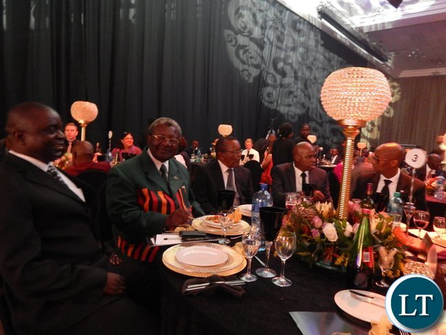 Part of the audience at the African Union Sports Council Regional Annual Sports Awards presentation ceremony in Johannesburg, South Africa on 25th June, 2016