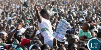 A PF cadre during the Kasama rally