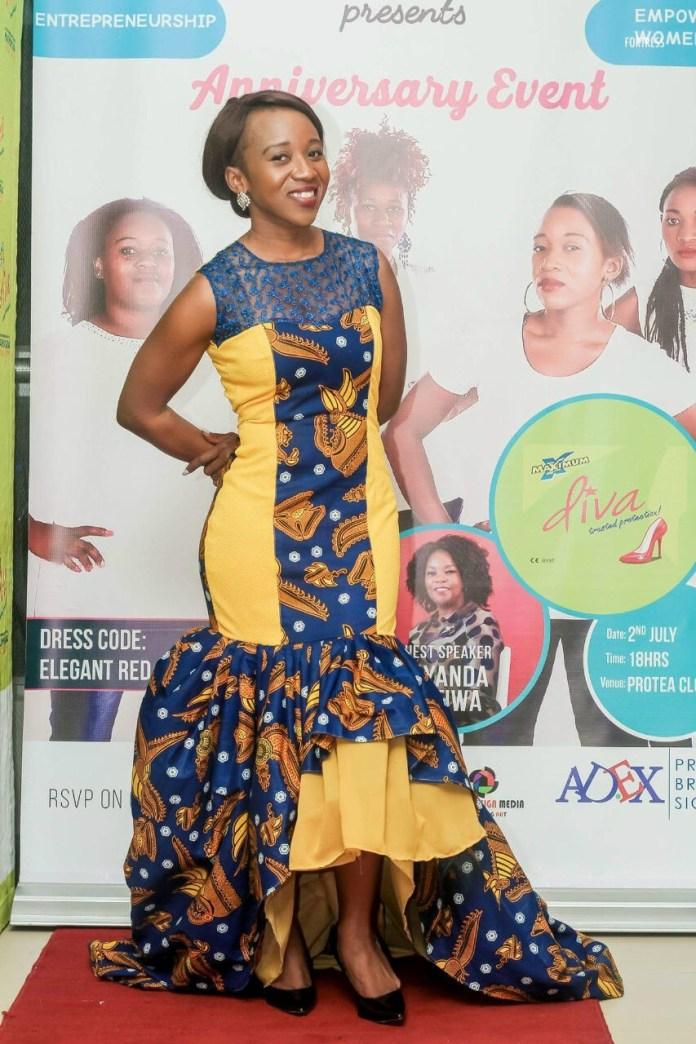 Founder of Single Moms Club , Mwansa Bwale