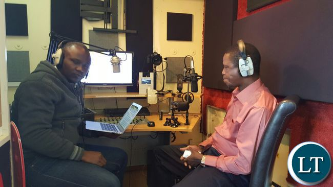 President Lungu speaks with Hot FM's Oscar Chavula during a special interview
