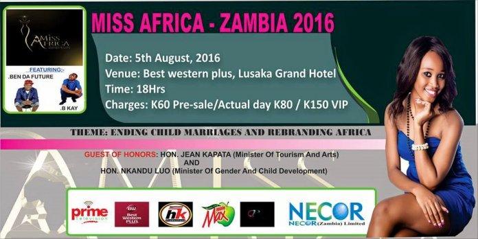 miss africa zambia