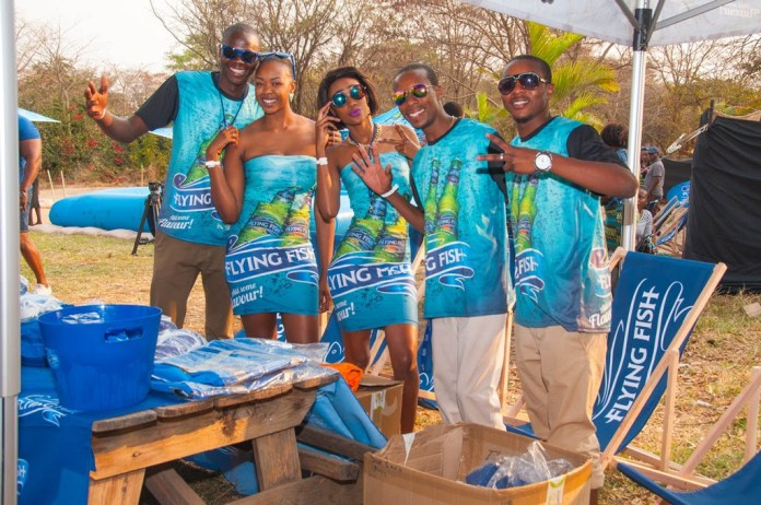 Flashback to the 2015 Flying Fish beach party in Lusaka.