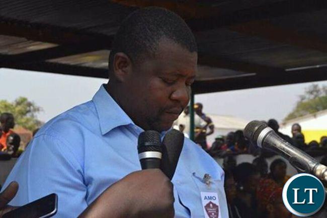 UPND Dundumwezi MP Edgar Singomb