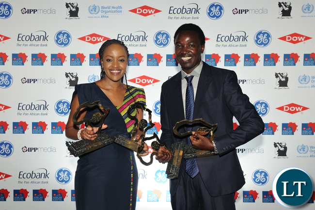 CNN MultiChoice African Journalist of the Year - Asha Ahmed Mwilu and Rashid Idi