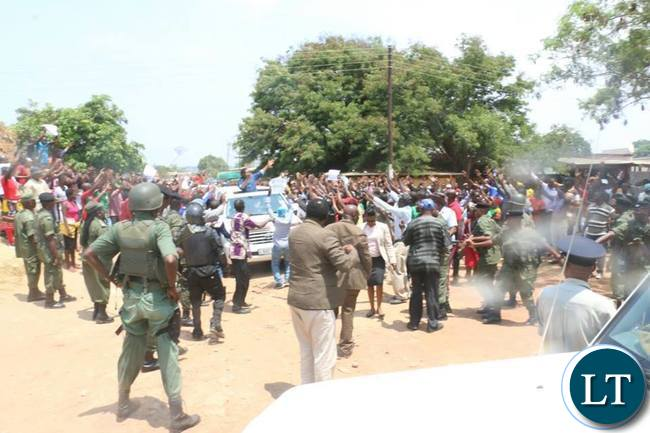 HH arrives in Luanshya this morning