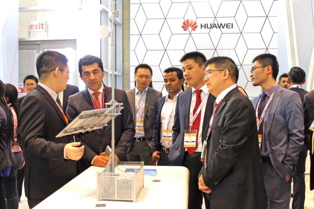 Huawei Rural Mobile Coverage Solution at AfricaCom 2016