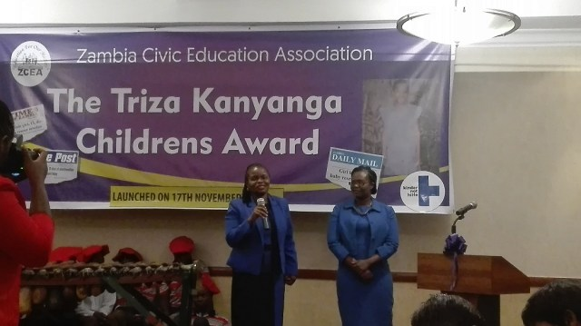 ZCEA executive director Judith Mulenga (right) LAZ president Linda Kasonde (left)