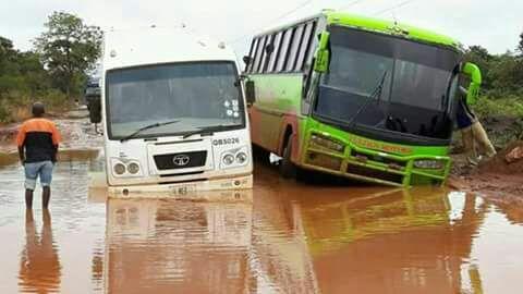Solwezi -Chingola road