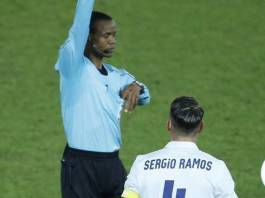 Kapri Mposhi FIFA Referee Janny Sikazwe officiating FIFA Club World Cup in Japan between Spanish giants Real Madrid and Kashima Antlers.