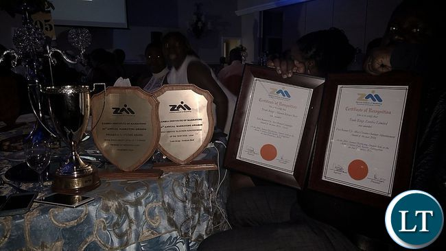 some-of-the-awards-certificates-and-trophies-scooped-by-trade-kings-on-display-during-the-zim-awards-gala-night