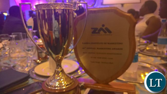 Some of the awards scooped by trade kings at the 2016 ZIM awards gala