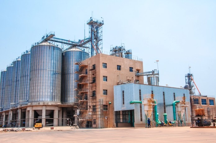 Zambian  Breweries' new U$33 million maltings plant in the Lusaka South Multi Facility Economic Zone (MFEZ).