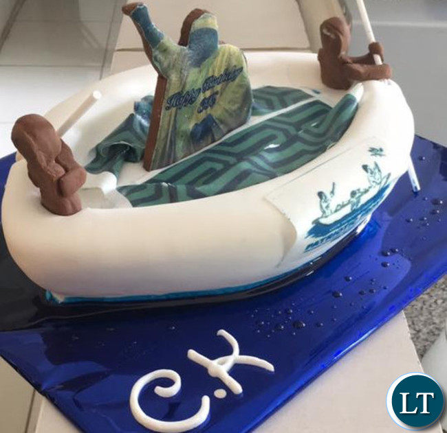 Chishimba Kambwili's Birthday Cake