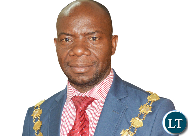 Lusaka Mayor His Worship Wilson Kalumba