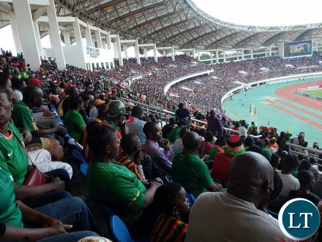 Zambia Vs Guinea in Under-20 Nations Cup Tournament