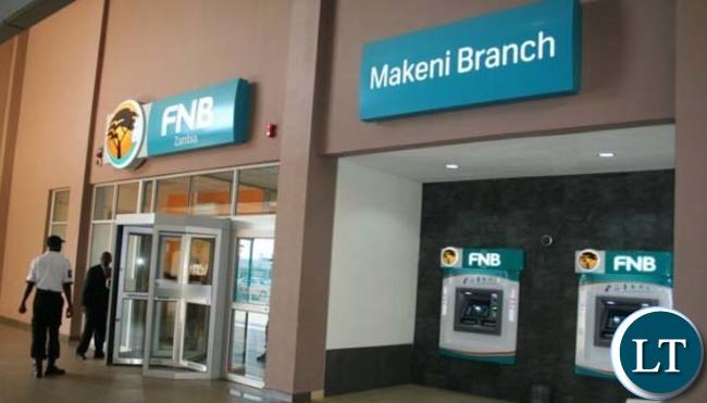 FNB Makeni Branch in Zambia