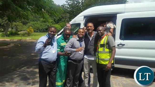 Will Smith in Zambia