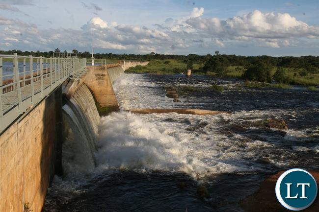 A-water reservoir which provides water for power generation at Musonda Hydro power station.