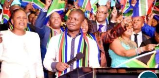 Prophet Bushiri prayed for all African nations and their leaders 'to ensure that peace prevails on the continent'.