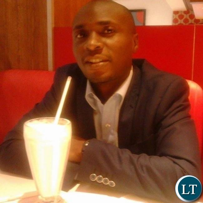 2016 Tony Elumelu Entrepreneurship Programme Selectee and Nchitonet.com Co-Founder Tulislwensi Sinyangwe