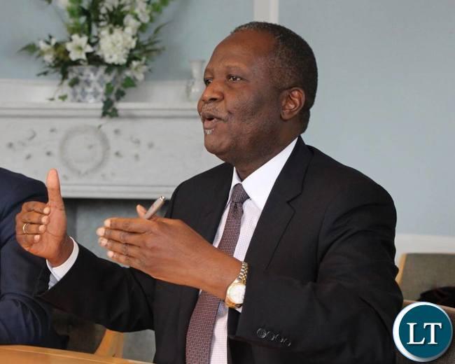 Minister of Finance Felix Mutati.