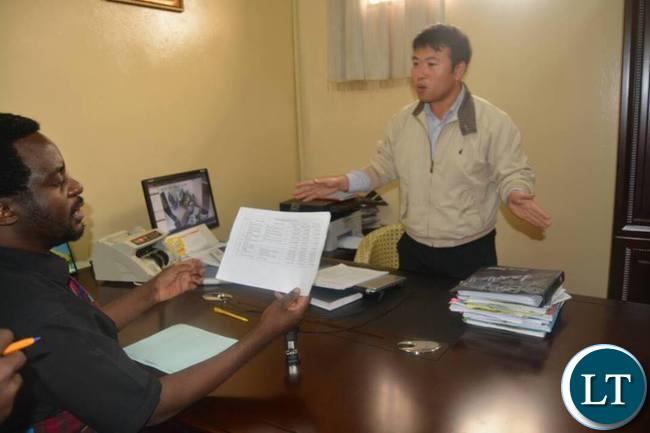 Dr Savior Chishimba meets management of Luburma Market
