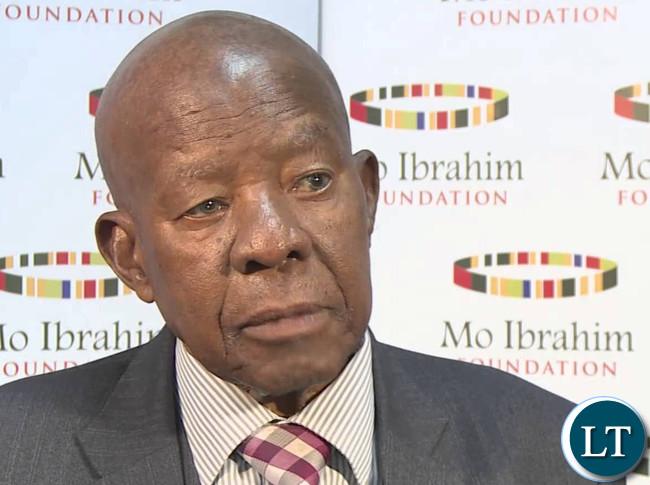 The late Sir Ketumile Quett Masire