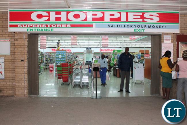 BOTSWANA's leading supermarket, Choppies