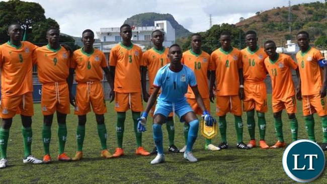 Zambia Under 17 National Soccer Team
