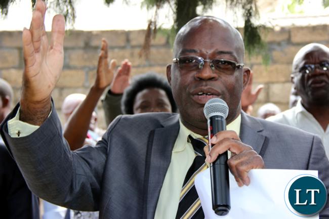 UPND Spokesman Charles Kakoma