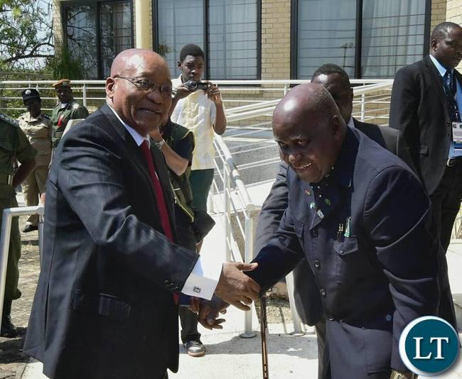 President Zuma meets KK