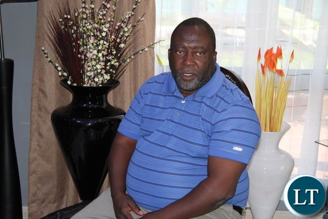 Former Copperbelt Minister Mwenya Musenge