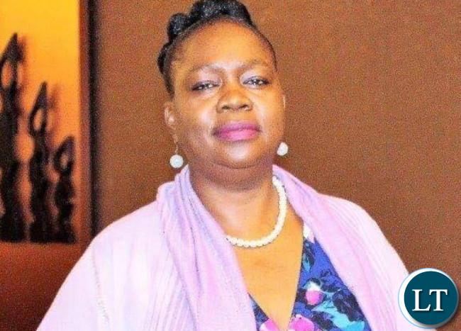 ECZ Public Relations Manager Margaret Chimanse
