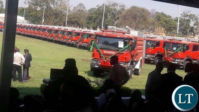 The 42 Fire Trucks