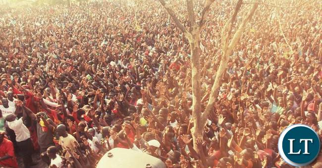 Itezhi Tezhi people turn out for HH