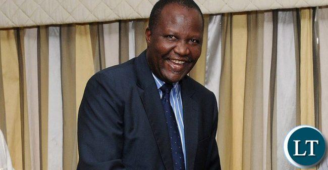 Minister of Finance Felix Mutati