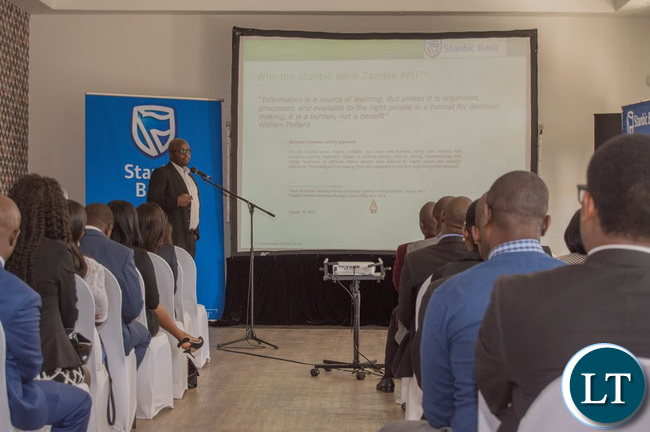 Stanbic Bank Head of Global Markets Victor Chileshe explains the banks' latest Purchasing Managers Index (PMI) report