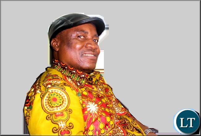 Green Party leader Peter Sinkamba
