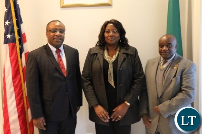 Minister of Community Development and Social Services Emerine Kabanshi
