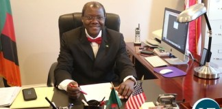 Zambia's Ambassador to the U.S Dr. Ngosa Simbyakula
