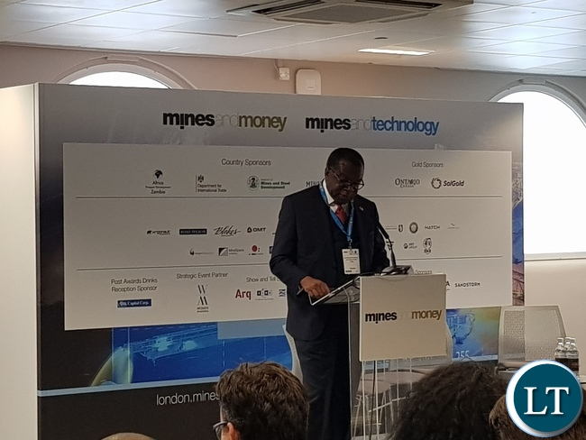Mines and Money conference in London.