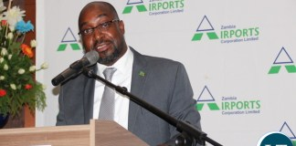 """Communication and Transport Minister Brian Mushimba announcing the cabinet approval of a new national airline during a """"Team building"""" cocktail at Lusaka Intercontinental Hotel on Monday, 18 December 2017. Picture By Jean Mandela"""