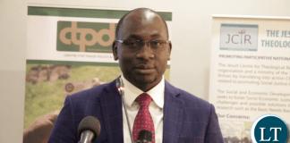 Finance Permanent Secretary Mukuli Chikuba