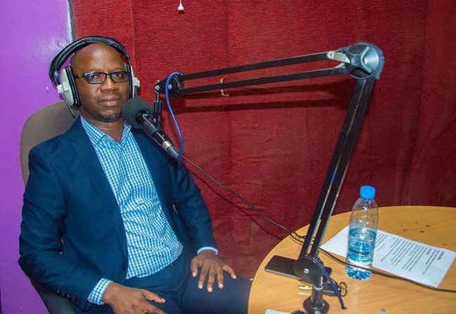 Zamtel Corporate Communications Manager Kennedy Mambwe featuring on Consumer Feedback radio programme on Hot FM
