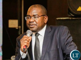 Minister of Health, Hon Dr Chitalu Chilufya